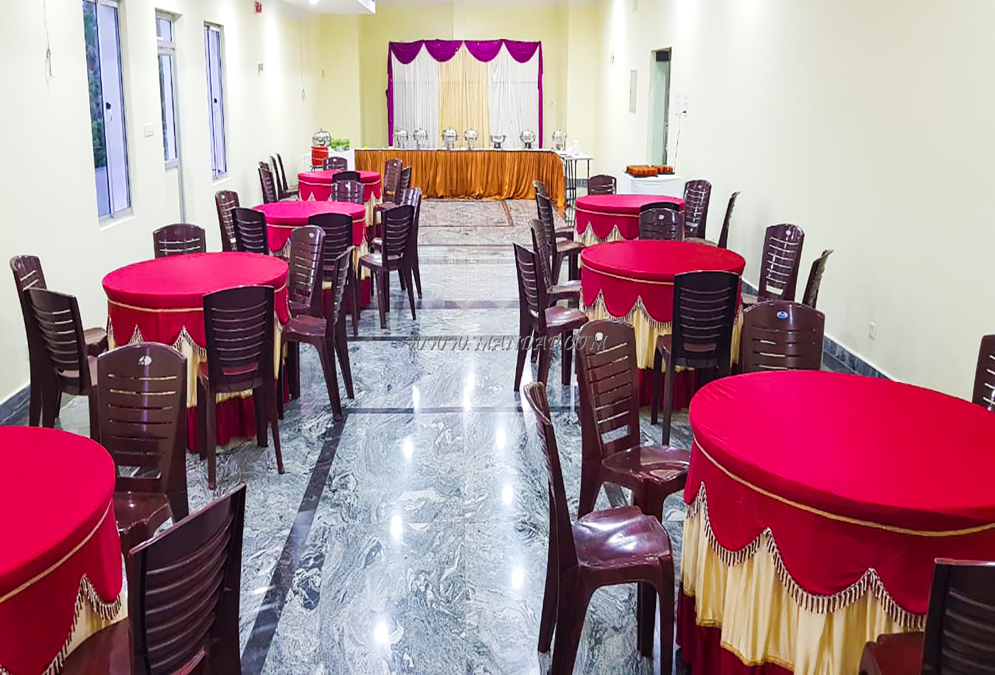 Find the availability of the Priso Hall 1 (A/C) in Ganapathichettikulam, Pondicherry and avail special offers